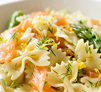 Smoked Salmon and Asparagus Farfalle